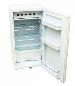 Armco single door mini fridge